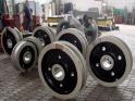 Крановые колеса, буксы, шкивы - изготовим на собственном оборудовании.