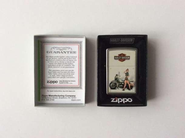 Зажигалка Zippo 9939 Harley Davidson Military US Army, фотография 2