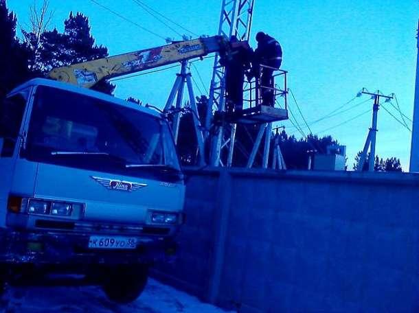 Автовышка, город  Тулун, фотография 1