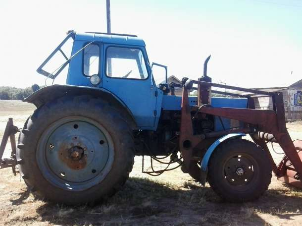 продам трактор мтз80 без куна, фотография 1