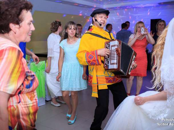 Баянист-Гармонист-Ведущий в Щёкино  на Свадьбу, Юбилей, Выпускной, фотография 2