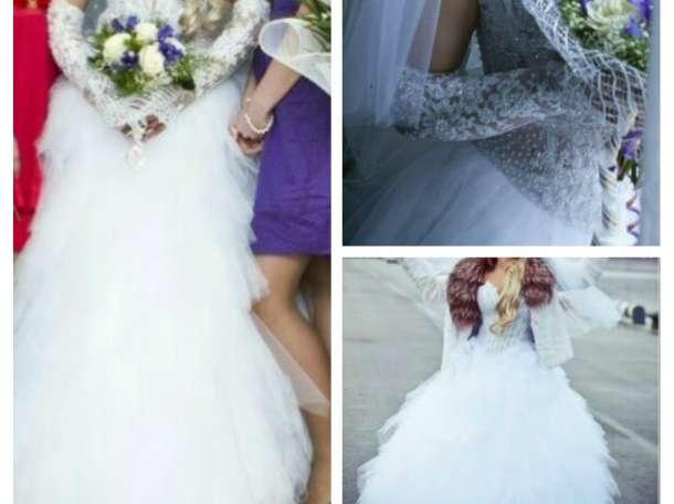 Продам. срочно !!! эксклюзивное свадебное платье, фотография 1