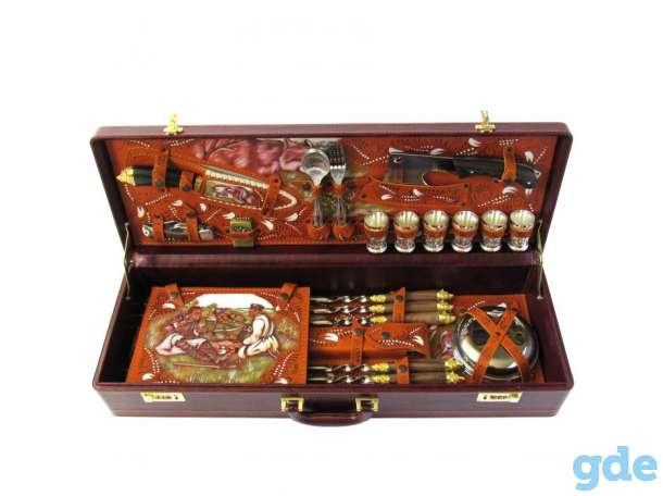 Нож,подарочный набор,топор,коптильня,барсетка, фотография 3