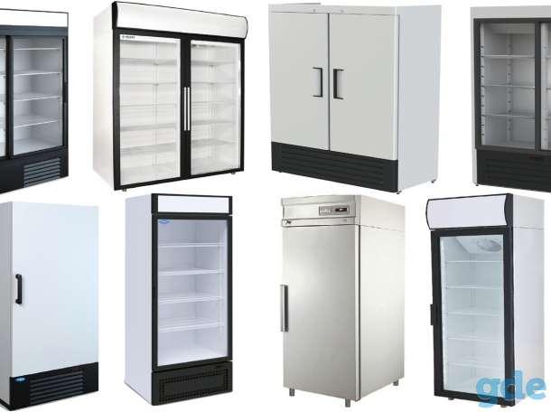 Холодильные шкафы, горки, морозильная камера, фотография 1