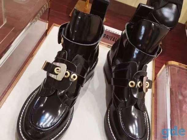 Ботинки Balenciaga лакированная кожа в modnitca.net, фотография 1