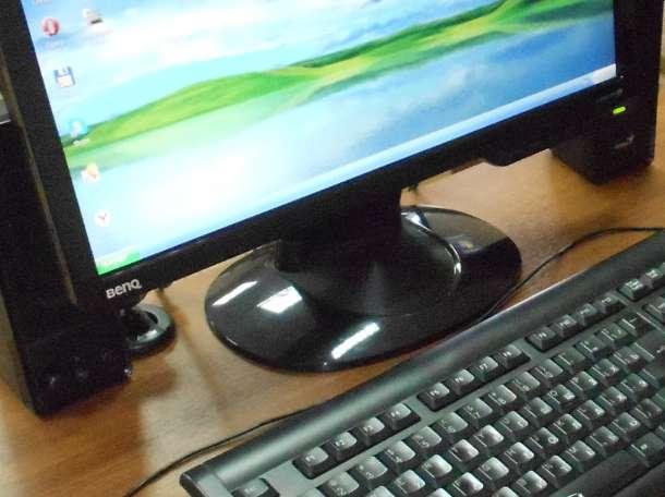 Продам Ж/К монитор «BENQ» 17 дюймов черного цвета, фотография 1