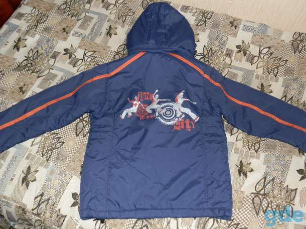 Куртка осенняя на мальчика (рост 128), фотография 2