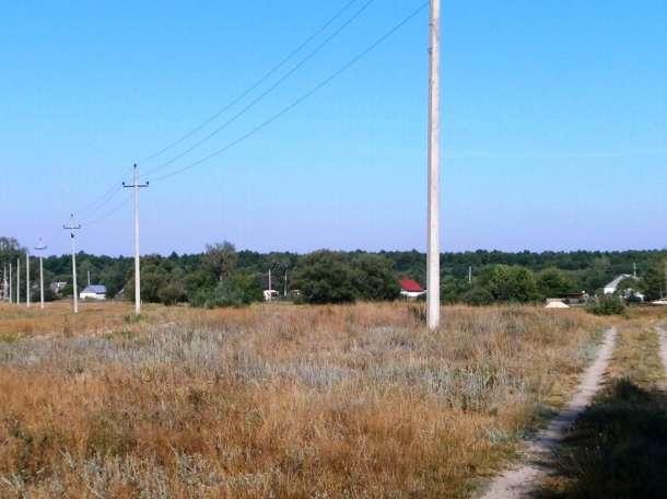 Продается земельный участок для строительства дома по ул. Лесной  в селе Большой Хомутец Липецкой области., фотография 4