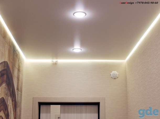 Парящие натяжные потолки- это своеобразная игра света, фотография 4