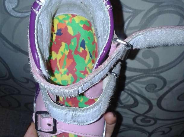 Продам отличные ортопедические кожаные сандалии , фотография 9