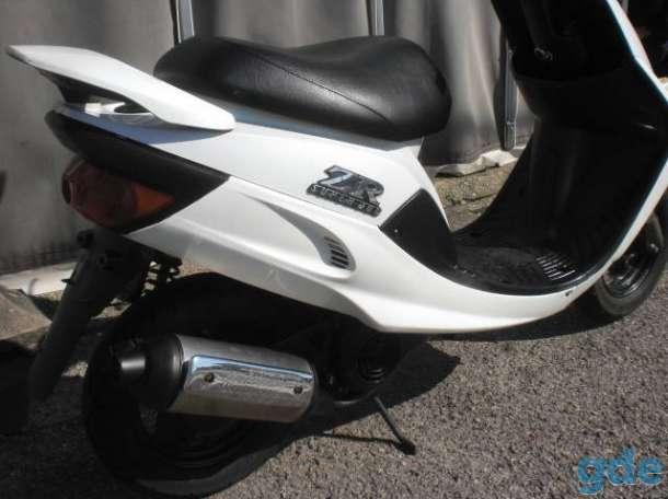 Спортивный скутер из Японии Yamaha Super Jog ZR Новые поставки и подготовка, фотография 3