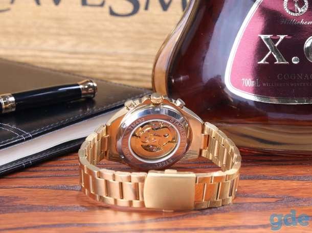 Часы BY - Winner Luxury - Gold, фотография 4