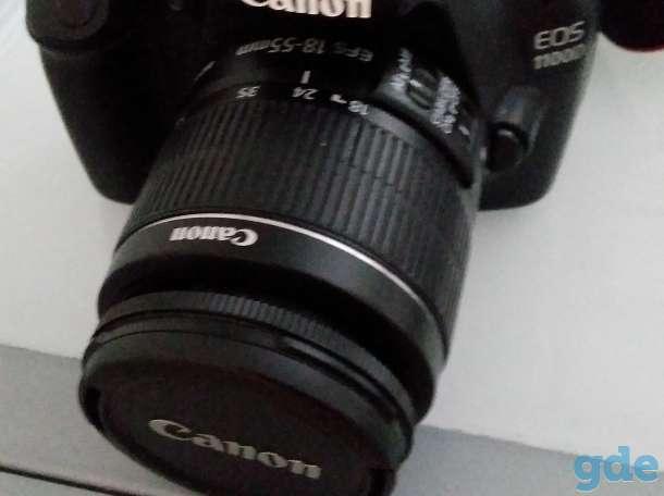 фотоаппарат Canon 1100d, фотография 1