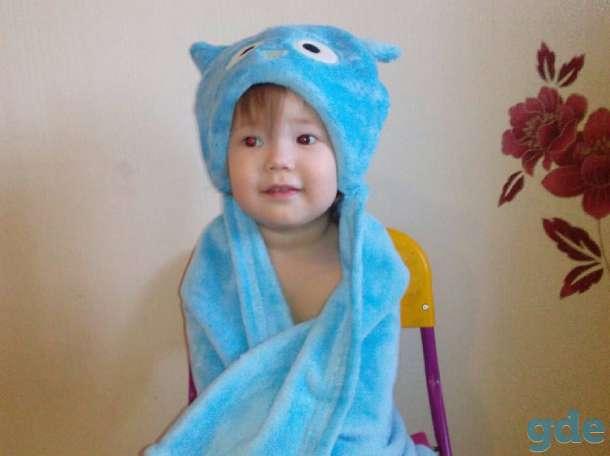 Детский Плед-Полотенце с капюшоном, фотография 7