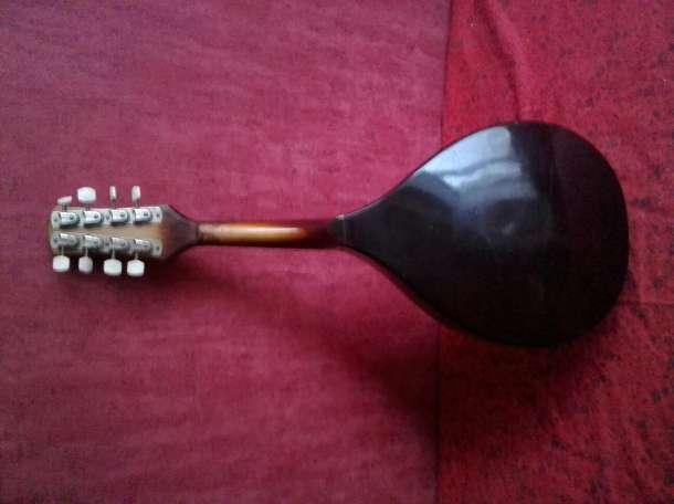 мандолина советская деревянная, фотография 4
