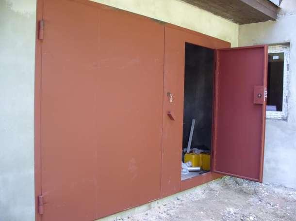 Автоматические секционные ворота, вертикального подъёма, фотография 7
