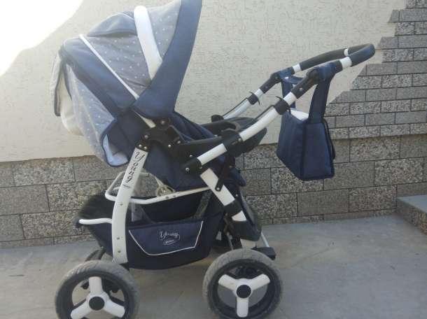 Продам детскую коляску Adamex Young трансформер + матрасик., фотография 2