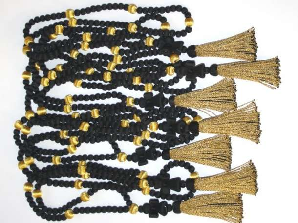 Чётки архиерейские (шелковые, подарочные) , фотография 2