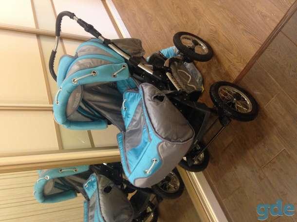 Детская коляска трансформер Adamex Avalon, фотография 1