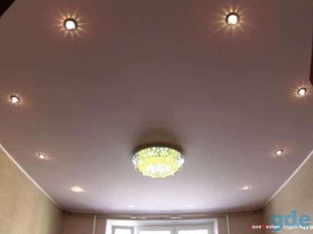 Матовые натяжные потолки-класика в вашем доме, фотография 7
