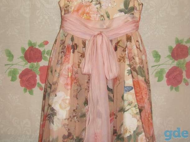 Платье для девочки 4-6 лет, фотография 1