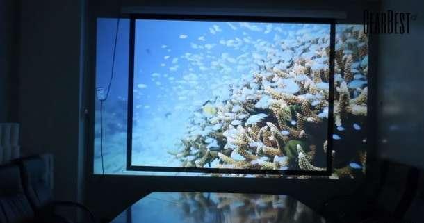 HD-проектор Excelvan CL720 для кино и бизнеса, фотография 5