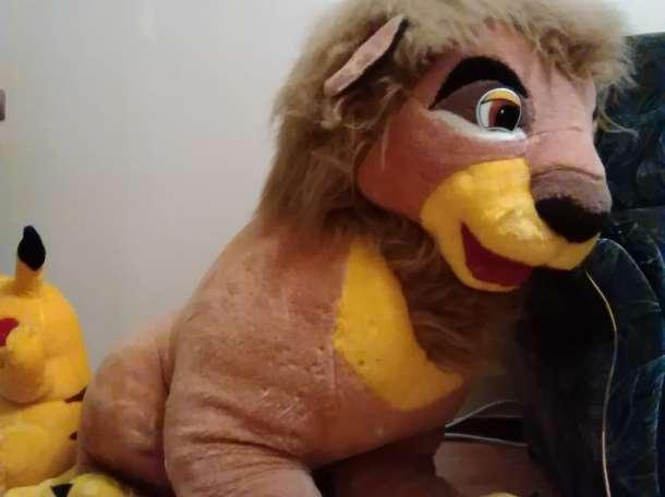игрушка лев, фотография 1