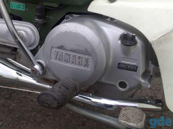 Японский мопед/мокик на карданном приводе Yamaha Town Mate 50 куб., фотография 4