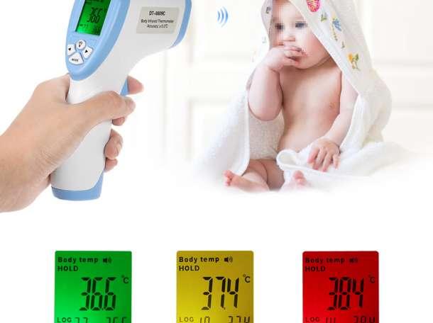 Бесконтактный (инфракрасный) термометр., фотография 1