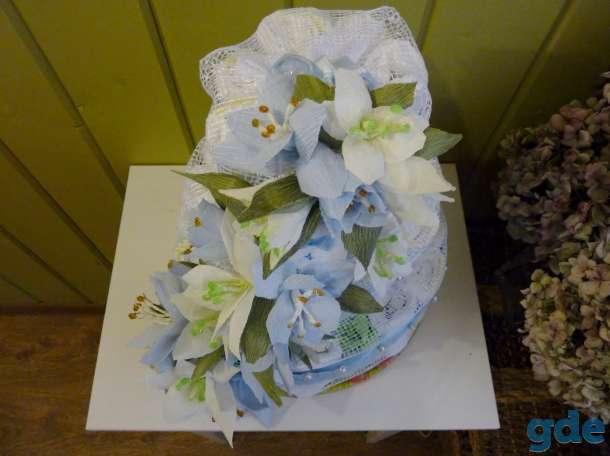 Тортик из подгузников на заказ., фотография 3