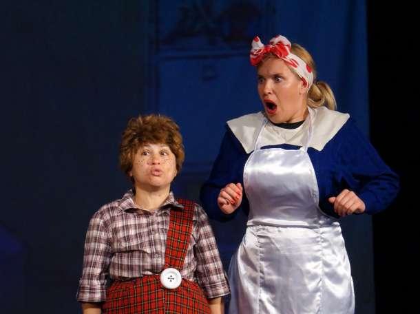 Профессиональные актёры театра «Рампа» в качестве Деда Мороза и Снегурочки !!!, фотография 4