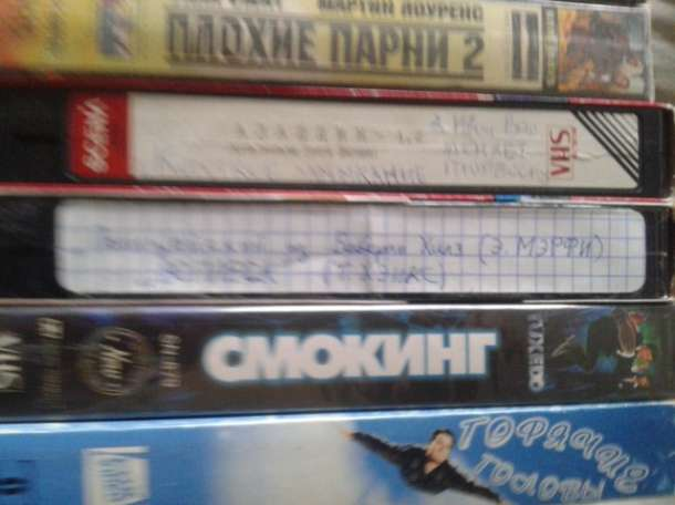 35  кассет VHS с  записями, фотография 4