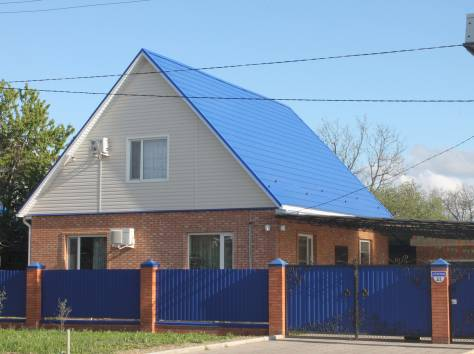 продается дом с местом для строительства магазина, Краснодарский край, ст.Новопокровская, ул. Советская 21, фотография 2