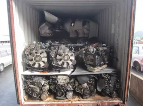 Двигатели, Коробки контрактные из Японии на грузовики и легковые автомобили, фотография 3