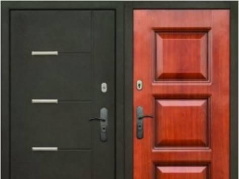 двери железные металлические стальные