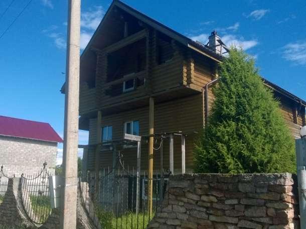 Новый дом-коттедж у красивого озера, Боровские, р-н, Псковская область, фотография 1