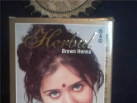 купить Индийская хна Herbul  коричневый для волос, фотография 2