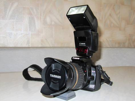 Зеркальный фотоаппарат Canon 400D, фотография 1
