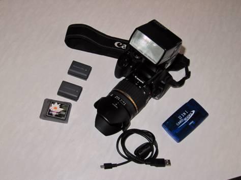 Зеркальный фотоаппарат Canon 400D, фотография 2