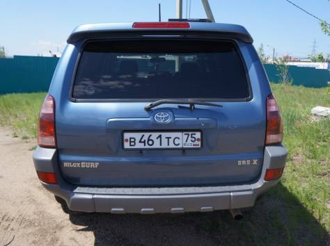 Toyota Hilux Surf 2.7 AT (150 л.с.) 4WD 2002, фотография 11