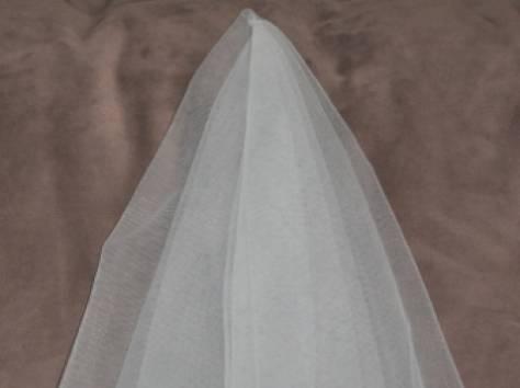 Фата для невесты на девичник белая, фотография 4