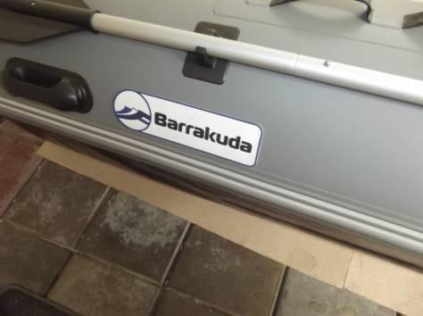 ПВХ катамаран 3,85 м. Barrakuda под мотор 30 л. с. (50 км. ч. ), фотография 4