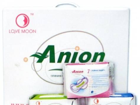 Анионовые гигиенические прокладки Love Moon, фотография 1