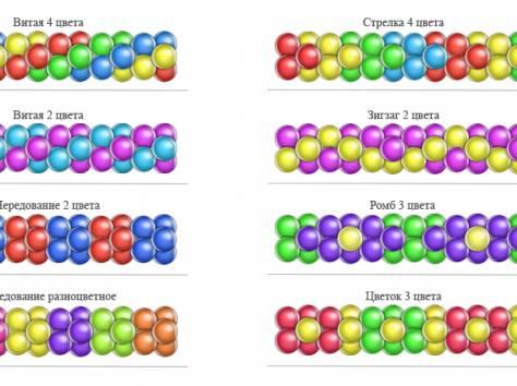 Схема воздушных шаров своими руками