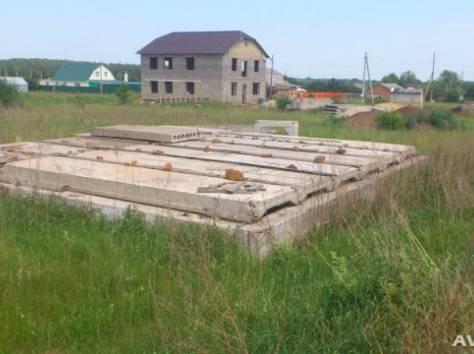 Готовый фундамент под строительство (ИЖС), фотография 1