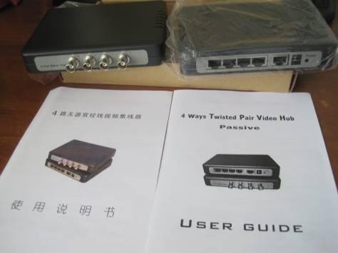 Хаб. Два устройства синхронизации видеосигнала c монитором, фотография 1