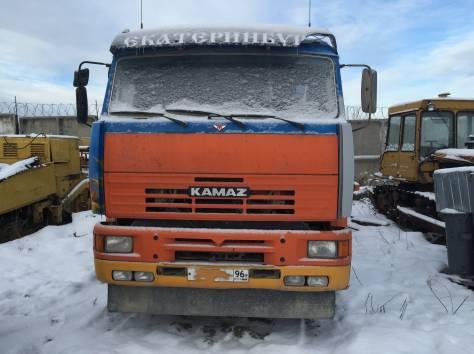 Автобетоносмеситель 581453 на шасси КАМАЗ-6520  2008 г/в, фотография 4