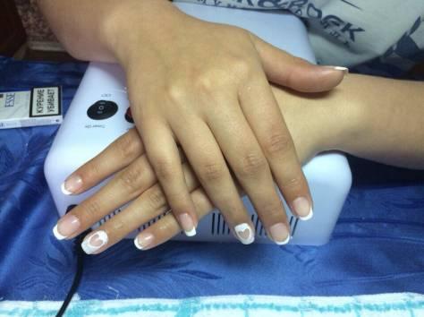 Наращивание ногтей шеллак, фотография 4