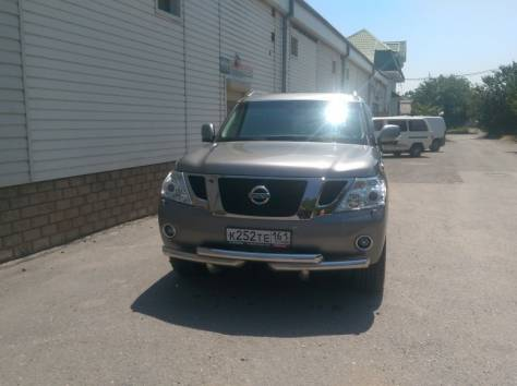 Nissan Patrol 5.6 AT (400 л.с.) 4WD 2014, фотография 8