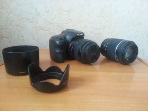 продам фотоаппарат Sony SLTA65X, фотография 2